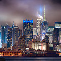 Nyc Fog by Rospotte Photography