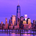 Nyc From Hoboken by Jerry Fornarotto