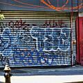 Nyc Graffiti by Chuck Kuhn