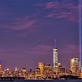 Nyc  Landmarks Wtc Tribute In Light by Susan Candelario