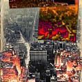 Nyc Papercut No.2 by Steven Hlavac