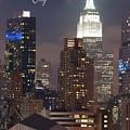 Nyc Skyline 0926-17 by Rospotte Photography