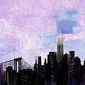 Nyc Skyline by Paul Scott