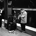 Nyc Subway by Andre Thibault