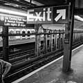 Nyc Subway At Night by Ranjay Mitra