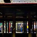 Nyc Subway Platform 283 by Jeff Stallard