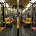 Nyc Subway by Stefan Mazzola