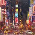 Nyc Times Square by Ylli Haruni