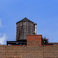 Nyc Water Tank by Charles A LaMatto
