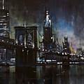 N.y.city by Michael Lang