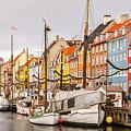 Nyhavn Area Copenhagen by Sophie McAulay