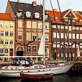 Nyhavn Area Of Copenhagen by Sophie McAulay
