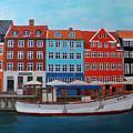 Nyhavn Copenhagen by Deborah Boyd