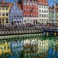 Nyhavn Harbor Area, Copenhagen by Karen McKenzie McAdoo