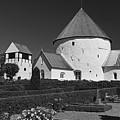 Nyker Round Church by Inge Riis McDonald