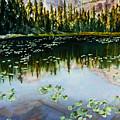 Nymph Lake by Mary Benke