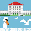 Nymphenburg Palace by Alan Steele