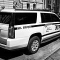 nypd police bomb squad gmc yukon xl vehicle New York City USA by Joe Fox