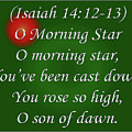O Morning Star by Day Williams