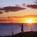 Oahu Fisherman by Brandon Tabiolo - Printscapes
