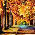 Oak Alley by Leonid Afremov