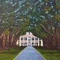 Oak Alley Plantation by Judy Jones