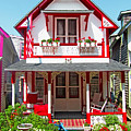 Oak Bluffs Gingerbread Cottages 2 by Mark Sellers