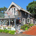 Oak Bluffs Gingerbread Cottages 8 by Mark Sellers