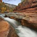 Oak Creek In Slide Rock State Park by Tim Fitzharris