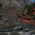Oak Creek Surging by Grant Washburn