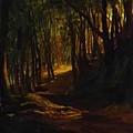 Oak Grove At San Terenzo by Ge Nikolai
