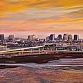 Oakland Sunset by Kelley King