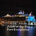 Oasis Of The Seas by Gary Wonning