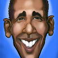 Obama Caricature by Kevin Middleton