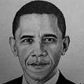 Obama by Carlos Velasquez Art