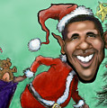 Obama Christmas by Kevin Middleton