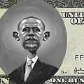 Obama Dollar by Charles Robinson