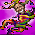 Obama Jester by Kevin Middleton