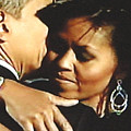 Obama Love by Jeannette Ulrich