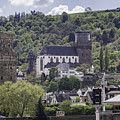 Oberwesel Old And New by Teresa Mucha