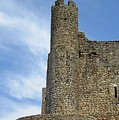 Obidos Castle II Portugal by John Shiron