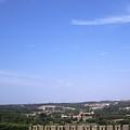 Obidos Panoramic View Portugal by John Shiron
