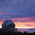 Observatory Sunset by Pauline Darrow