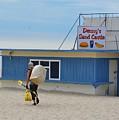 Ocean Beach In September by Virginia Levasseur