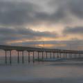 Ocean Beach Pier San Diego Ca by Bruce Pritchett