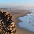 Cliffs At Ocean Beach - San Francisco - California by Carlos Alkmin
