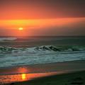 Ocean Beach Sunrise by Roger Wedegis