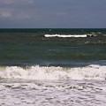 Ocean - Blue - Waves by D Hackett