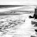Ocean Calm At Long Beach Island by John Rizzuto