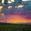 Ocean City Cloudy Sunrise by Joshua Zaring